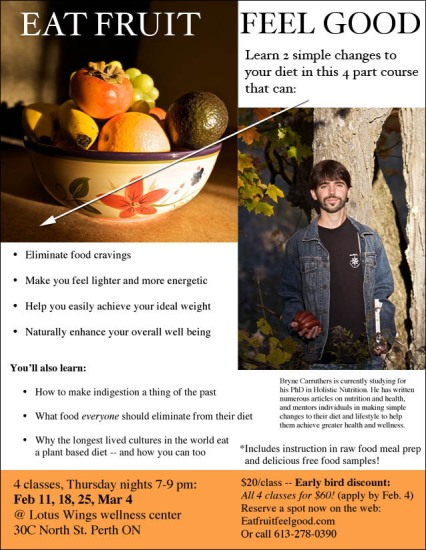 Poster of Eat Fruit Feel Good course